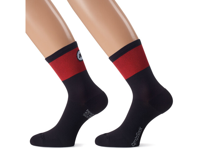 assos CentoSocks_Evo8 national red